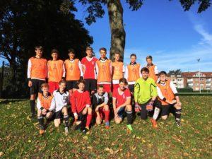 151009_Fußball Kreismeisterschaften Emsland_Gymnasium WK II und III_Zeitungsartikel_1