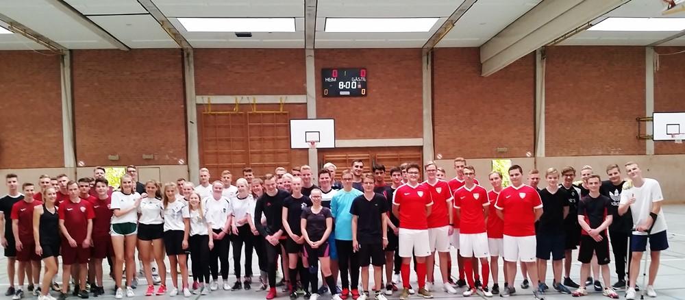 Das Emsland-Gymnasium im Fußball-Fieber