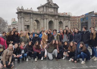 Foto Zeitungsartikel Klasse 8 Madrid