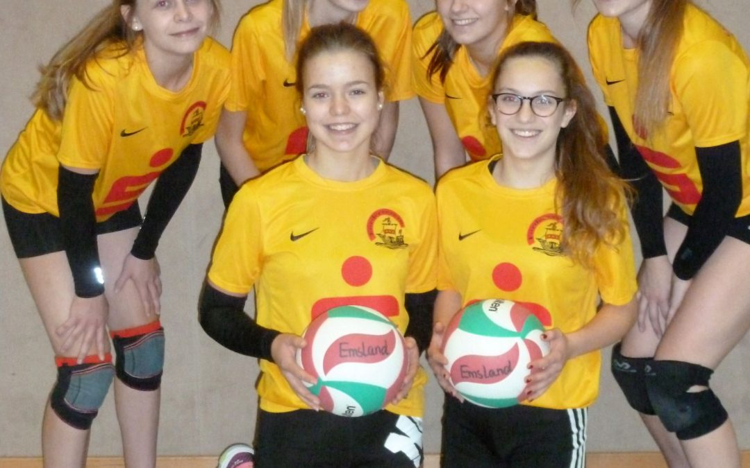 Mädchen des Emsland-Gymnasiums sind Vize-Kreismeister im Volleyball
