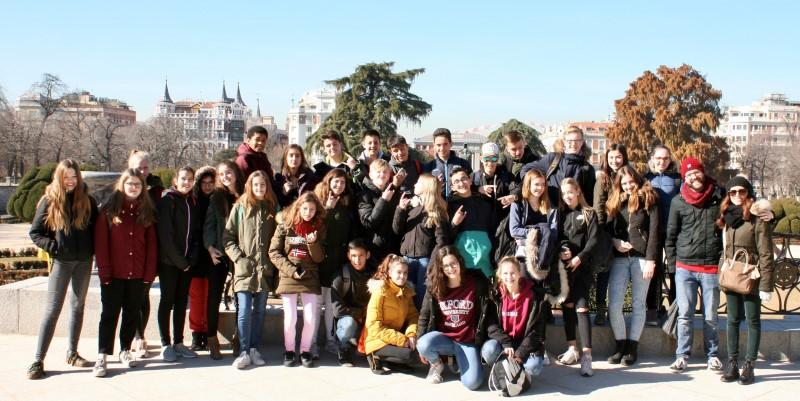 Schüleraustausch – Achtklässler des Emsland-Gymnasiums reisen nach Madrid