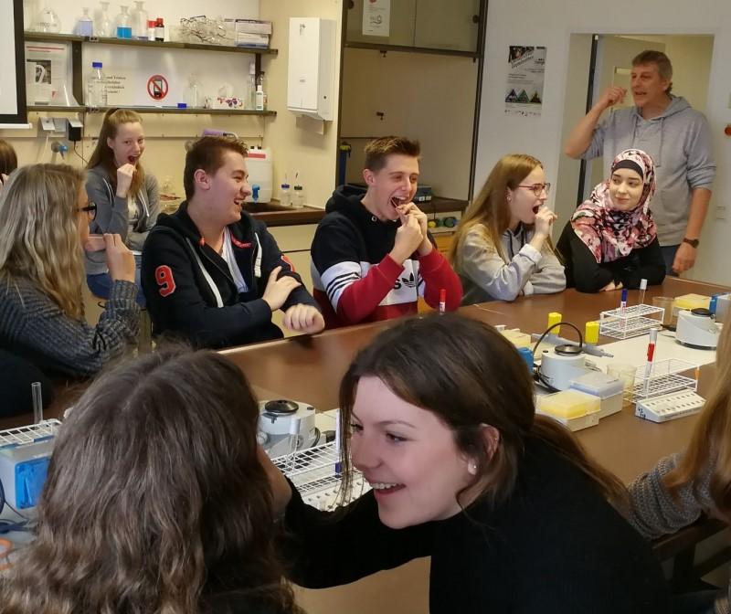 Exkursion des Biologie – Leistungskurses