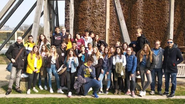 Achtklässler aus Madrid zu Besuch am Emsland-Gmynasium