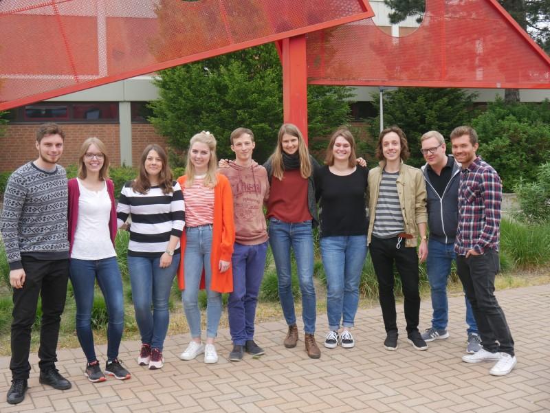 Neue Referendare am Emsland-Gymnasium