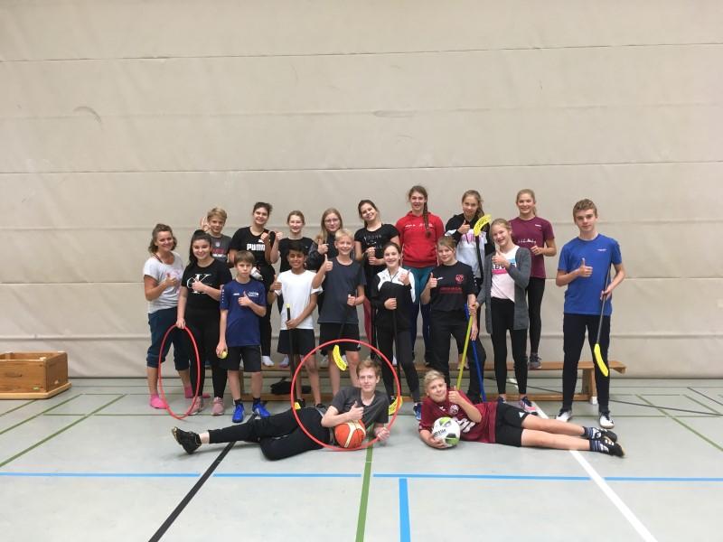 18 motivierte Sporthelferinnen und Sporthelfer am Emsland-Gymnasium ausgebildet