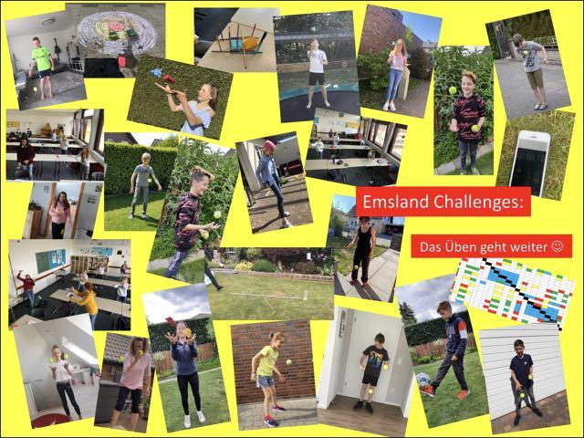 Neue und alte Challenges am Emsland-Gymnasium