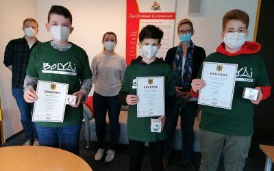 Emsland-Schüler erreichen Top-Platzierung beim Bolyai – Mathematik Wettbewerb