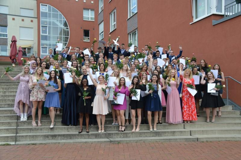 Endlich Angekommen – feierliche Entlassung der Abiturientia 2021 am Emsland-Gymnasium